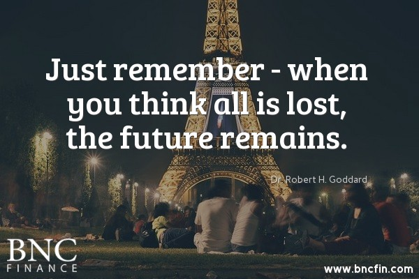 """""""JUST REMEMBER - WHEN YOU THINK ALL IS LOST, THE FUTURE REMAINS"""" - INSPIRATIONAL QUOTE"""