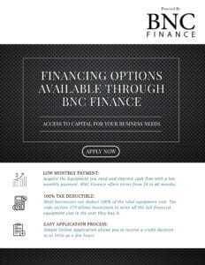 Business Finance Flyer