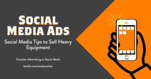 tips to sell heavy equipment