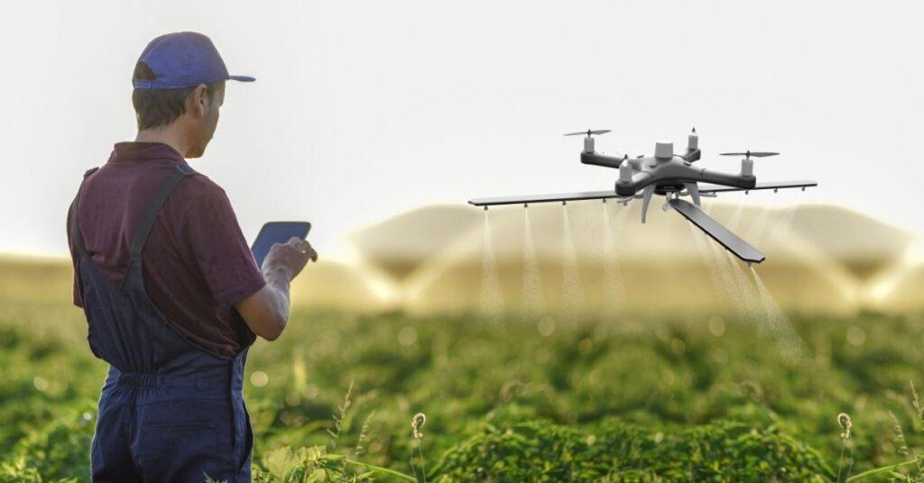 Drone irrigation management